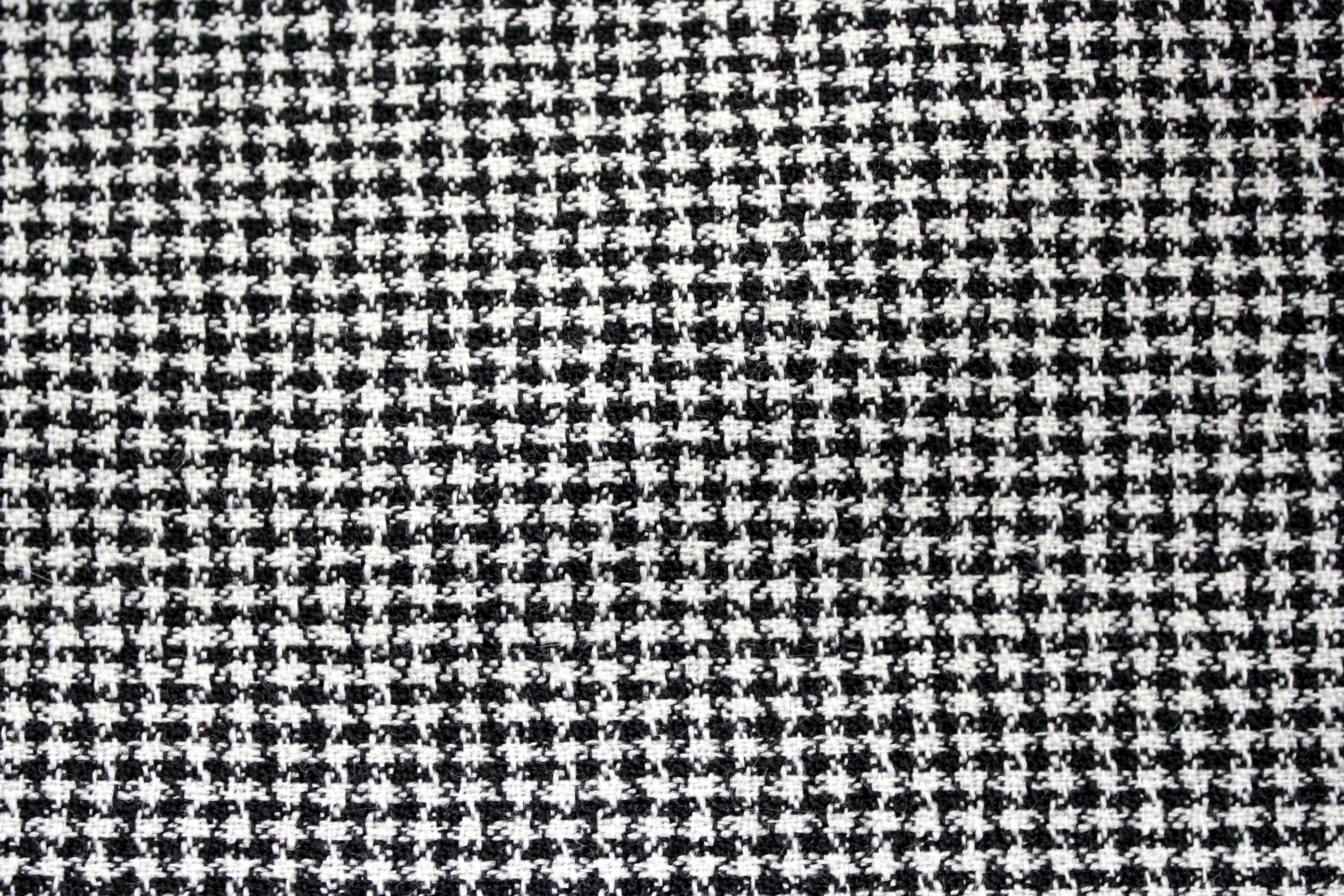 Black And White Tweed Pattern Texture Picture Free