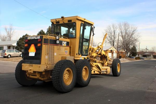 Caterpillar Street Maintenance Truck - Free High Resolution Photo