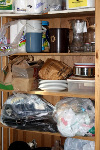 Cluttered Storage Shelves - Free High Resolution Photo