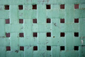 Green Distressed Texture with Squares - Free High Resolution Photo