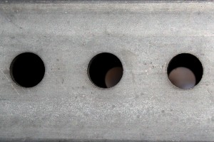 Metal Signpost with Holes Closeup Texture - Free High Resolution Photo