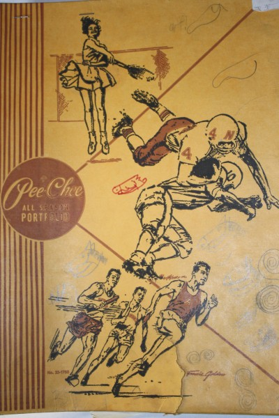 Old Pee-Chee Folder with Doodles - Free High Resolution Photo