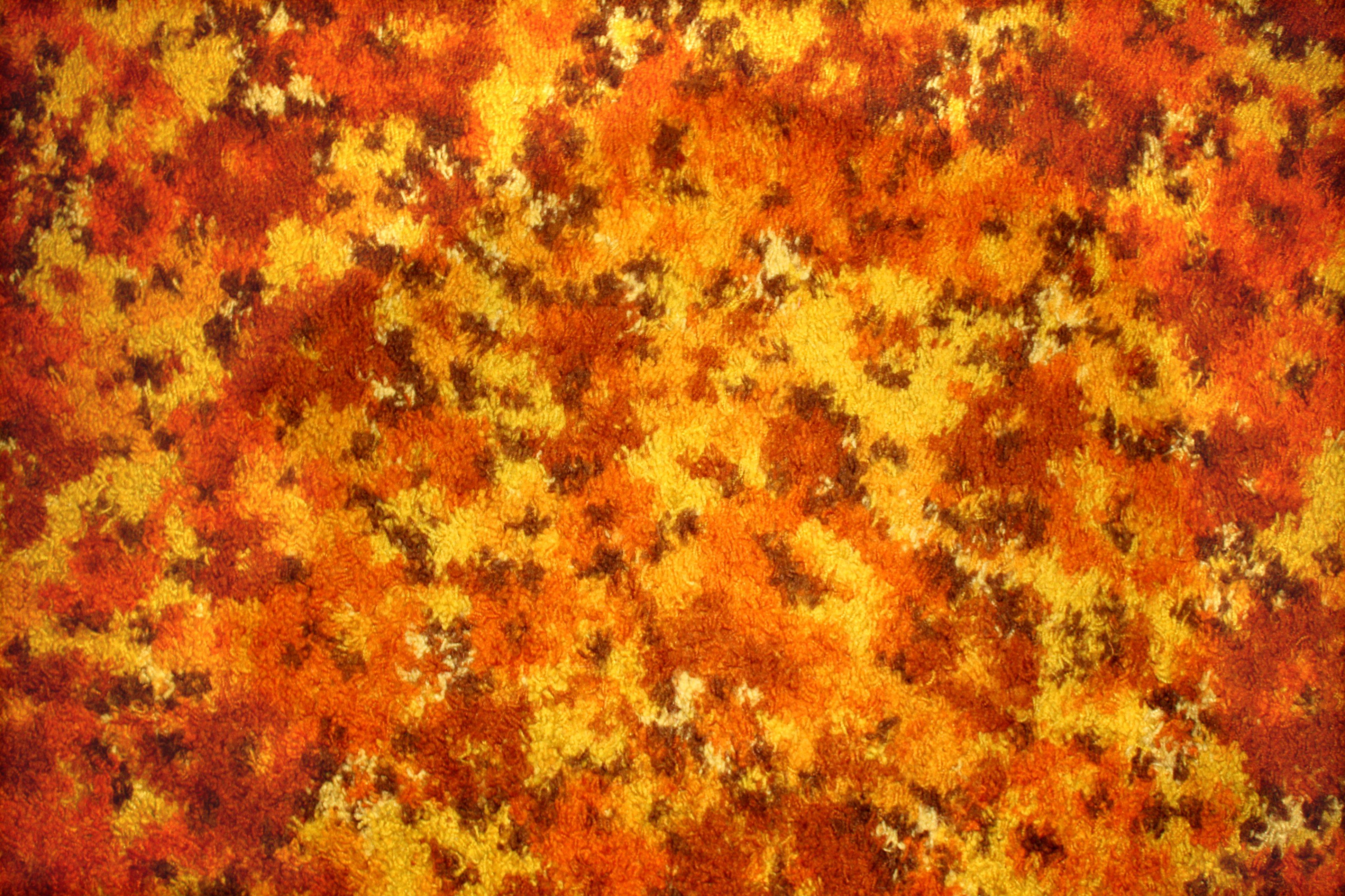 Orange floral carpet texture picture free photograph for Carpet texture high resolution