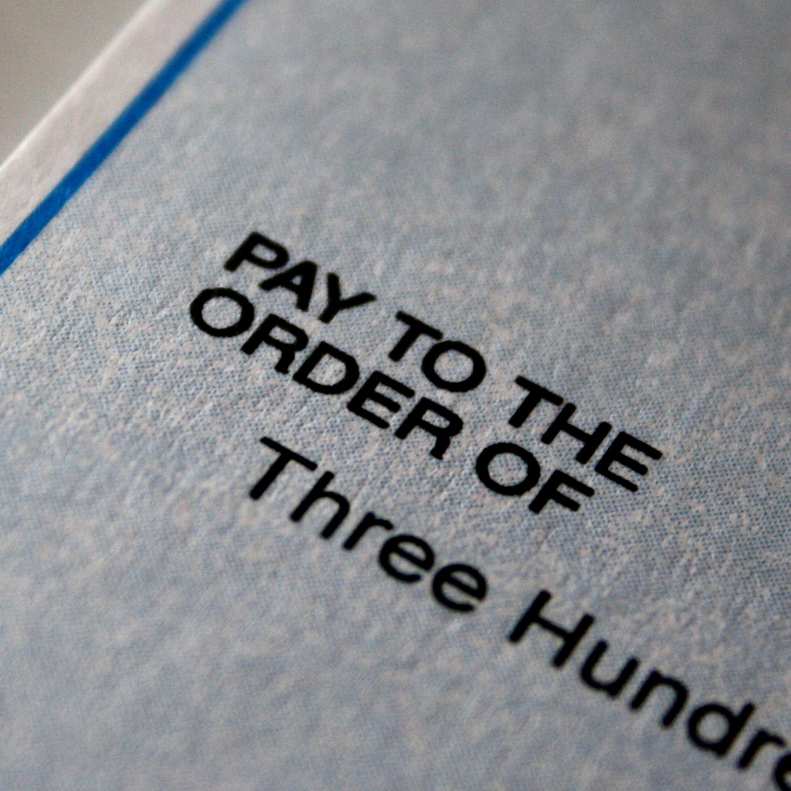 Pay To The Order Of Check Closeup Photos Public Domain - Pay-to-the-order-of