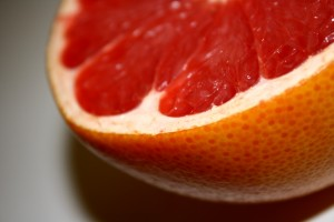 Ruby Red Grapefruit Closeup - Free High Resolution Photo