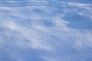 Shadows on Snow Texture - Free High Resolution Photo