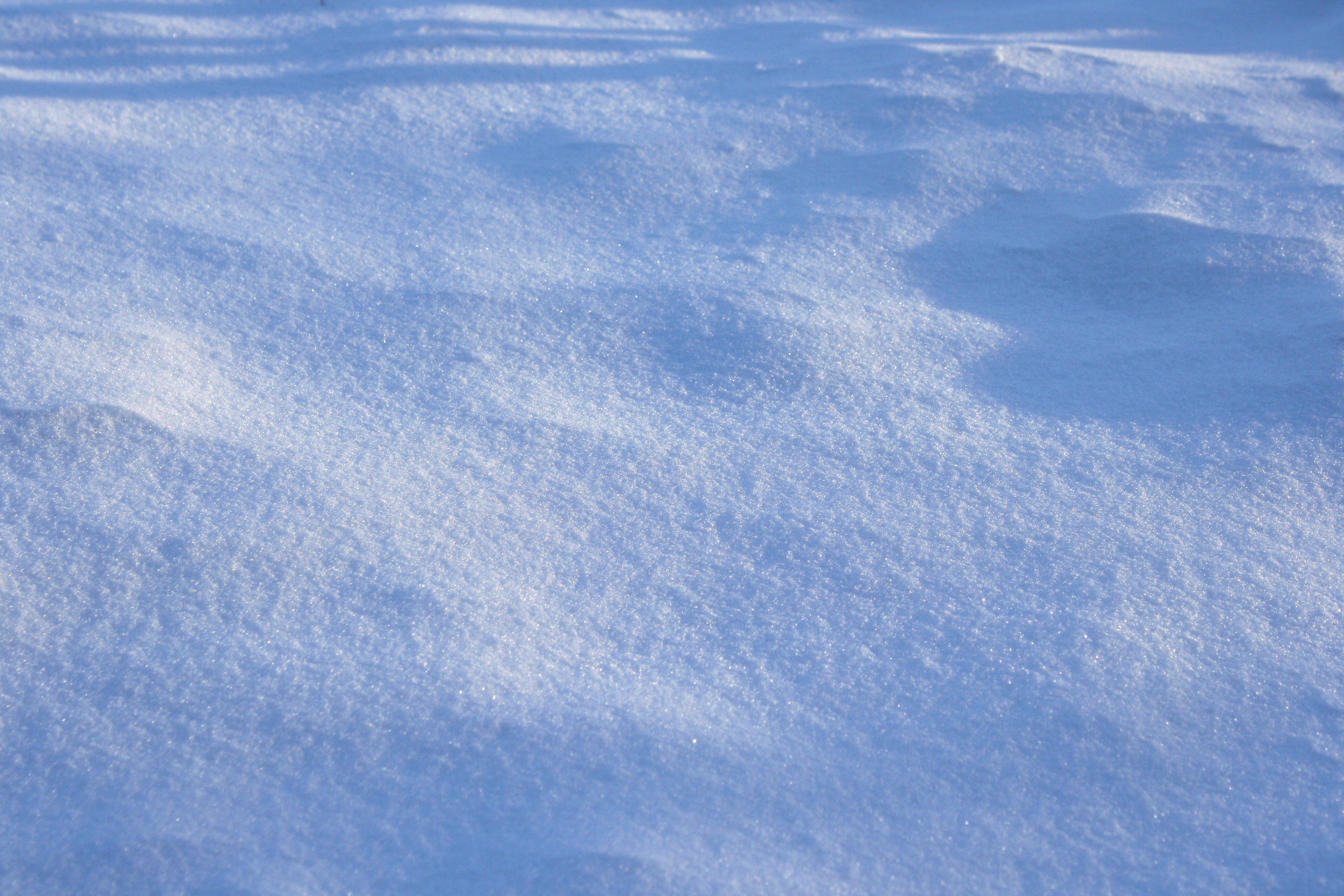 Shadows on Snow Texture Picture | Free Photograph | Photos Public Domain
