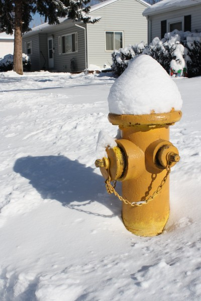 Snow Covered Fire Hydrant - Free High Resolution Photo