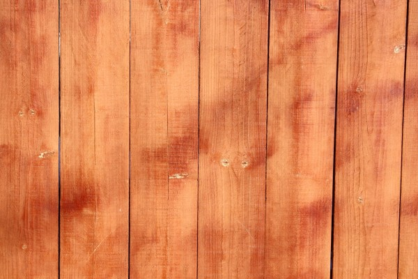 Stained Wooden Fence Boards Closeup Texture Picture Free