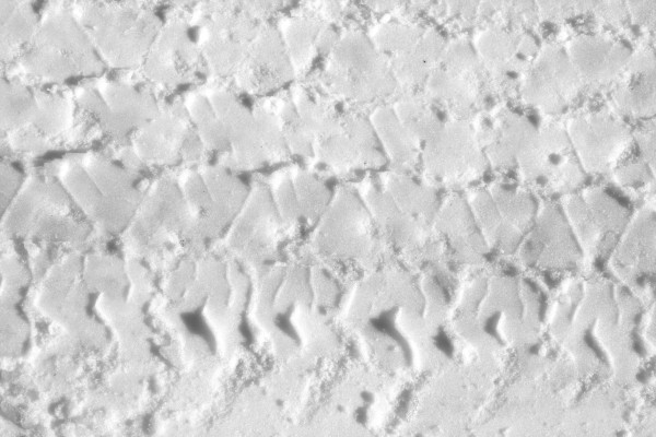Tire Track in Snow Texture - Free High Resolution Photo