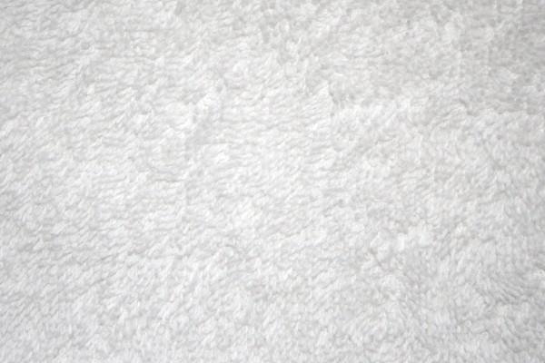 White Terry Cloth Closeup Texture - Free High Resolution Photo