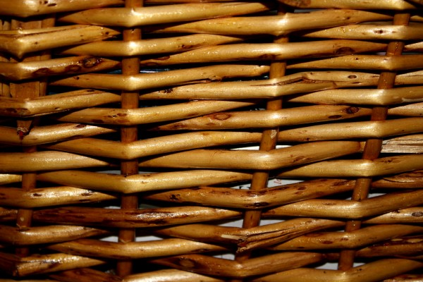 Wicker Basket Closeup Texture - Free High Resolution Photo