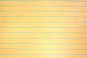Yellow Notebook Paper Texture - Free High Resolution Photo