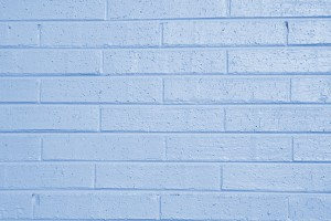 Baby Blue Painted Brick Wall Texture - Free High Resolution Photo
