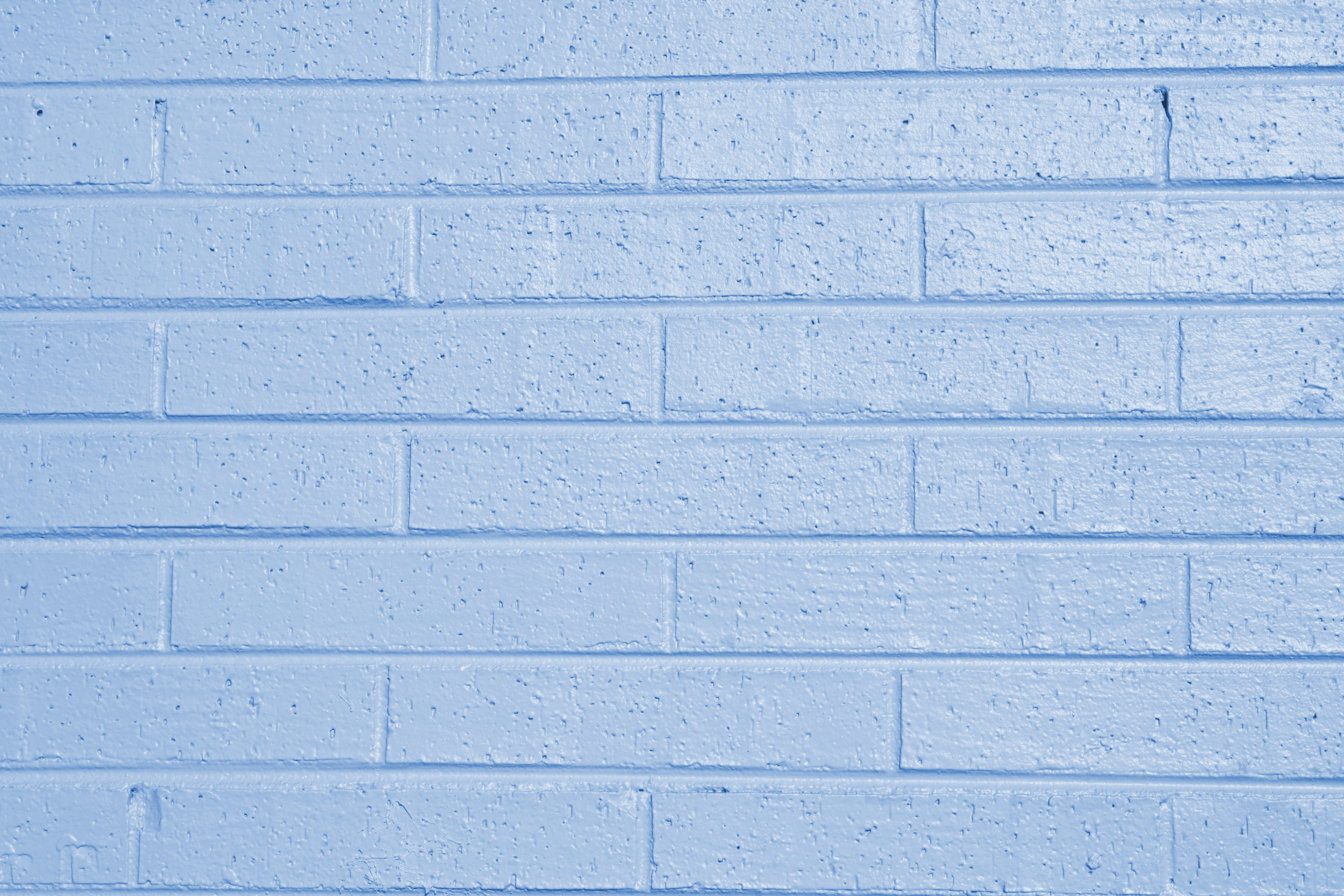 Baby Blue Painted Brick Wall Texture Picture Free