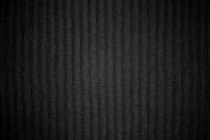 Black Ribbed Knit Fabric Texture - Free High Resolution Photo
