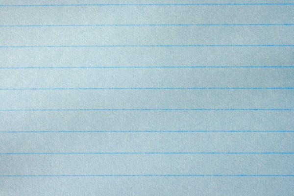 Blue Notebook Paper Texture - Free High Resolution Photo