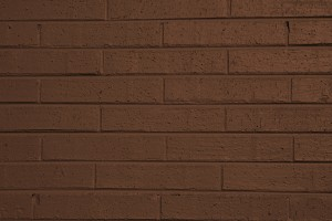 Brown Painted Brick Wall Texture - Free High Resolution Photo