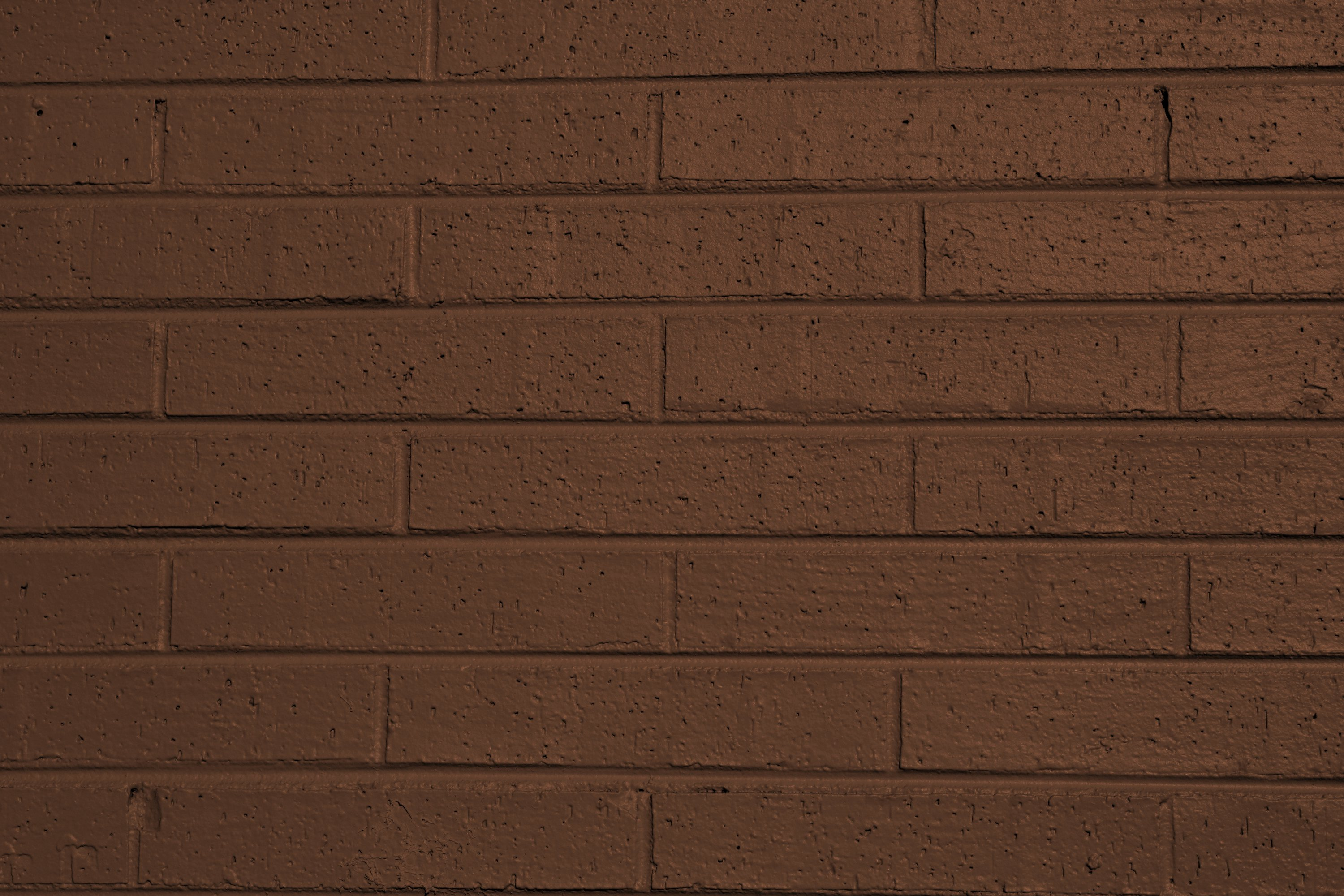 Brown painted brick wall texture picture free photograph for Brown colors for walls