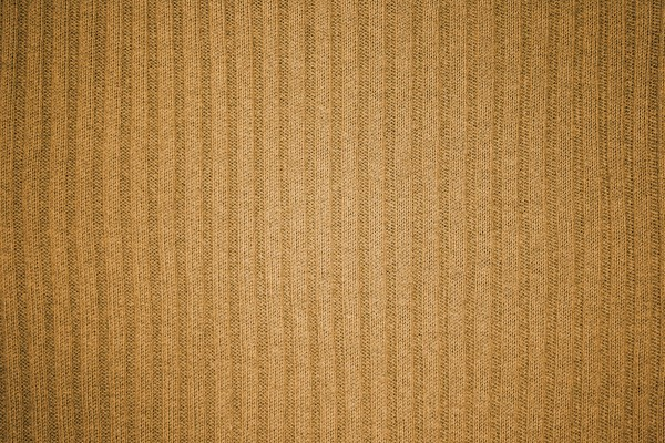Brown Ribbed Knit Fabric Texture - Free High Resolution Photo