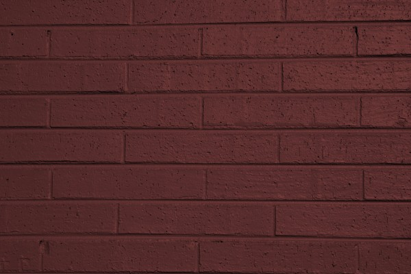 Brownish Red Painted Brick Wall Texture - Free High Resolution Photo