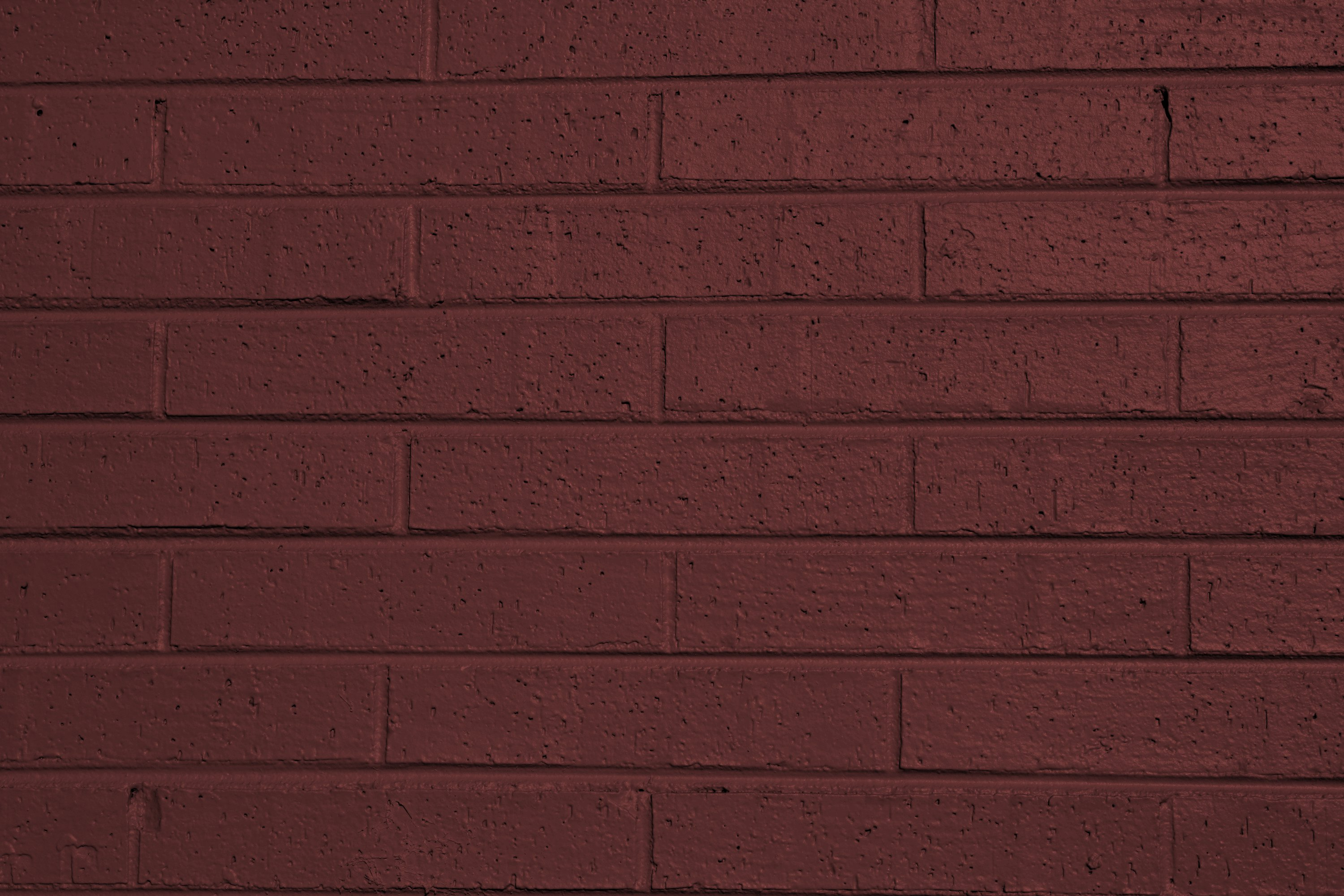 brownish red painted brick wall texture picture | free photograph