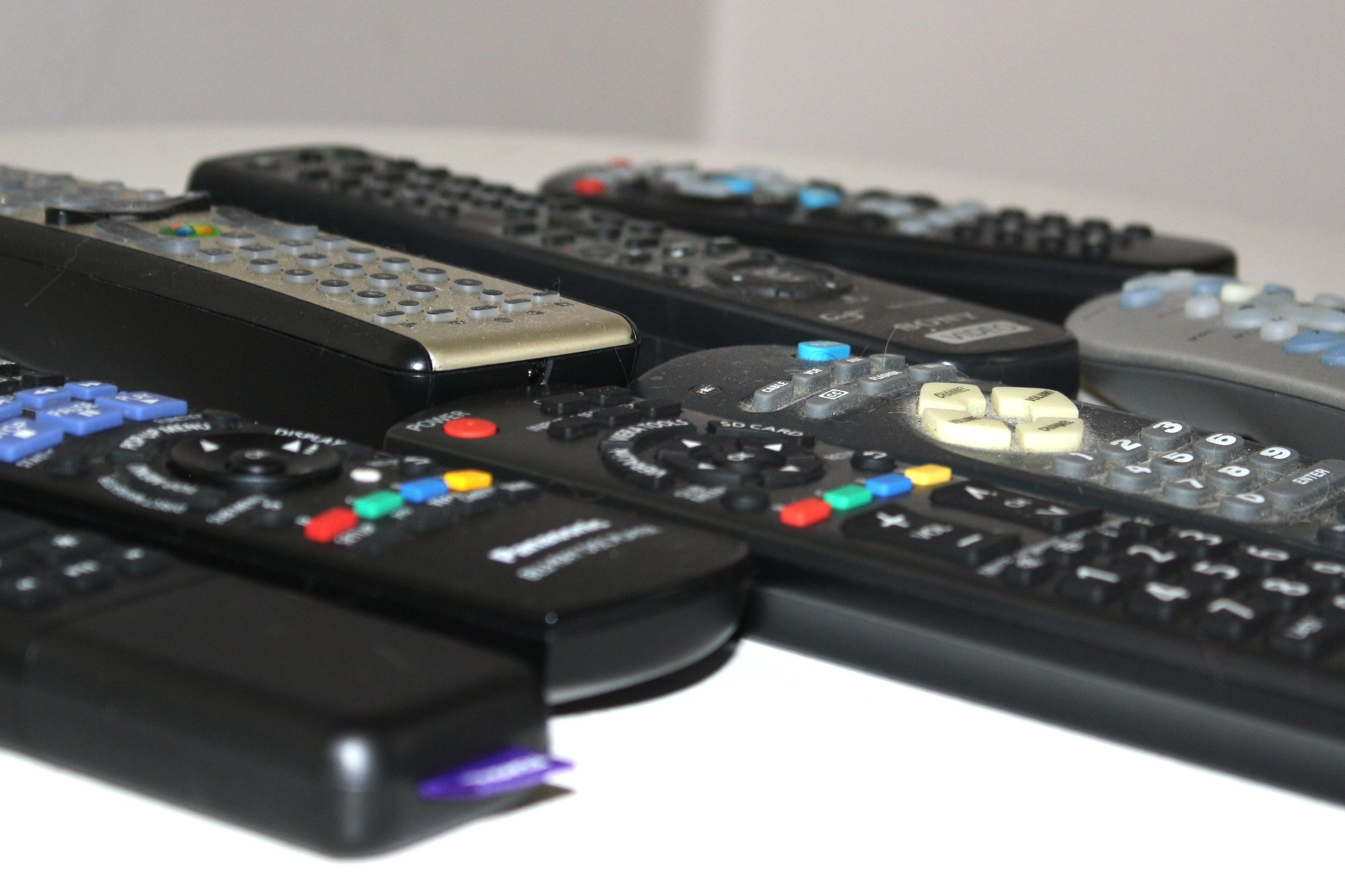 Bunch Of Remote Controls Photos Public Domain