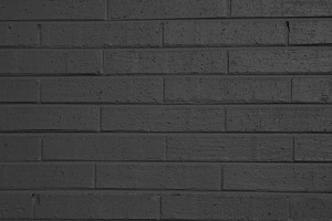 Charcoal Gray Painted Brick Wall Texture - Free High Resolution Photo