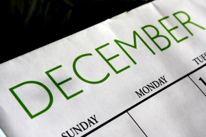 December Calendar - Free High Resolution Photo