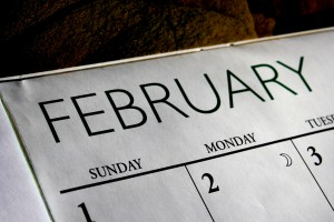 February Calendar - Free High Resolution Photo