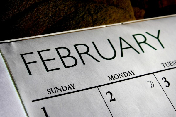 February Calendar - Free High Resolution Photo