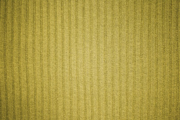 Gold Ribbed Knit Fabric Texture - Free High Resolution Photo
