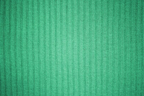 Green Ribbed Knit Fabric Texture - Free High Resolution Photo