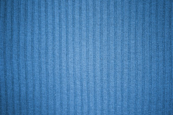 Light Blue Ribbed Knit Fabric Texture - Free High Resolution Photo