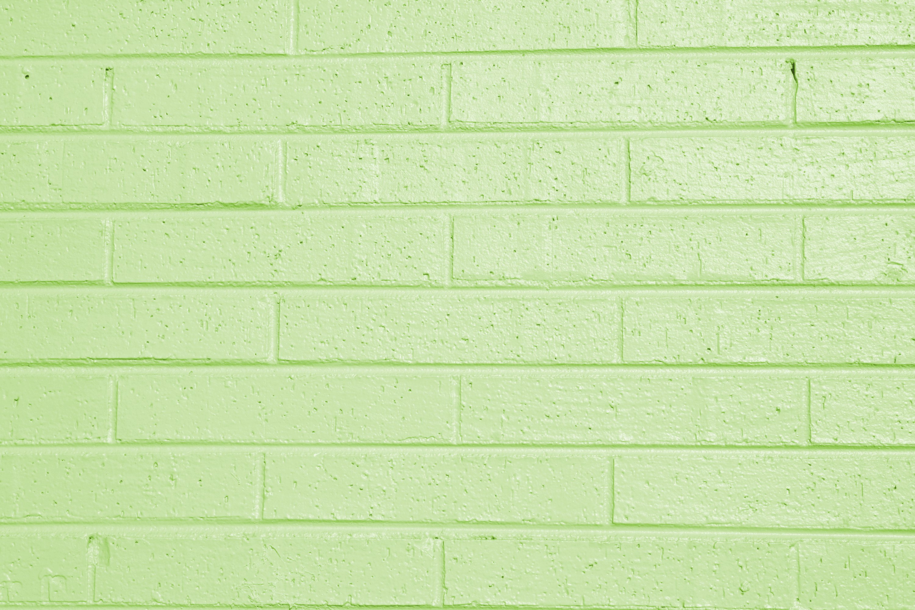 Wall Paint Light Green : Lime Green Painted Brick Wall Texture Picture Free Photograph Photos Public Domain