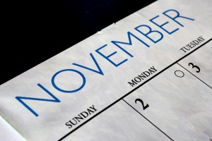 November Calendar - Free High Resolution Photo