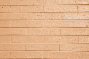 Light Orange or Peach Painted Brick Wall Texture - Free High Resolution Photo