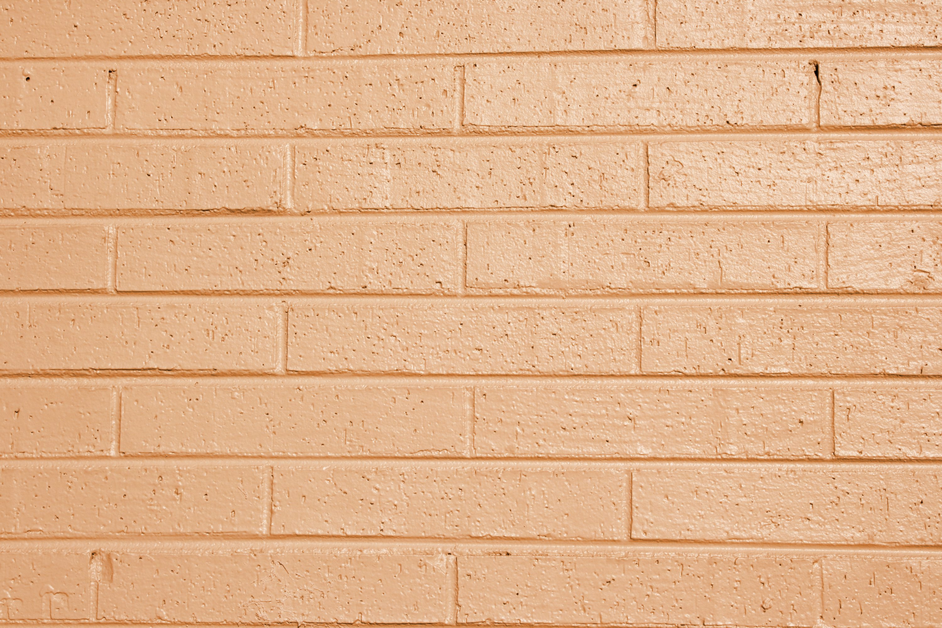 Light Orange or Peach Painted Brick Wall Texture Picture | Free ...