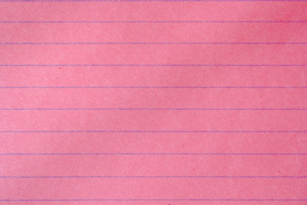 Pink Notebook Paper Texture - Free High Resolution Photo
