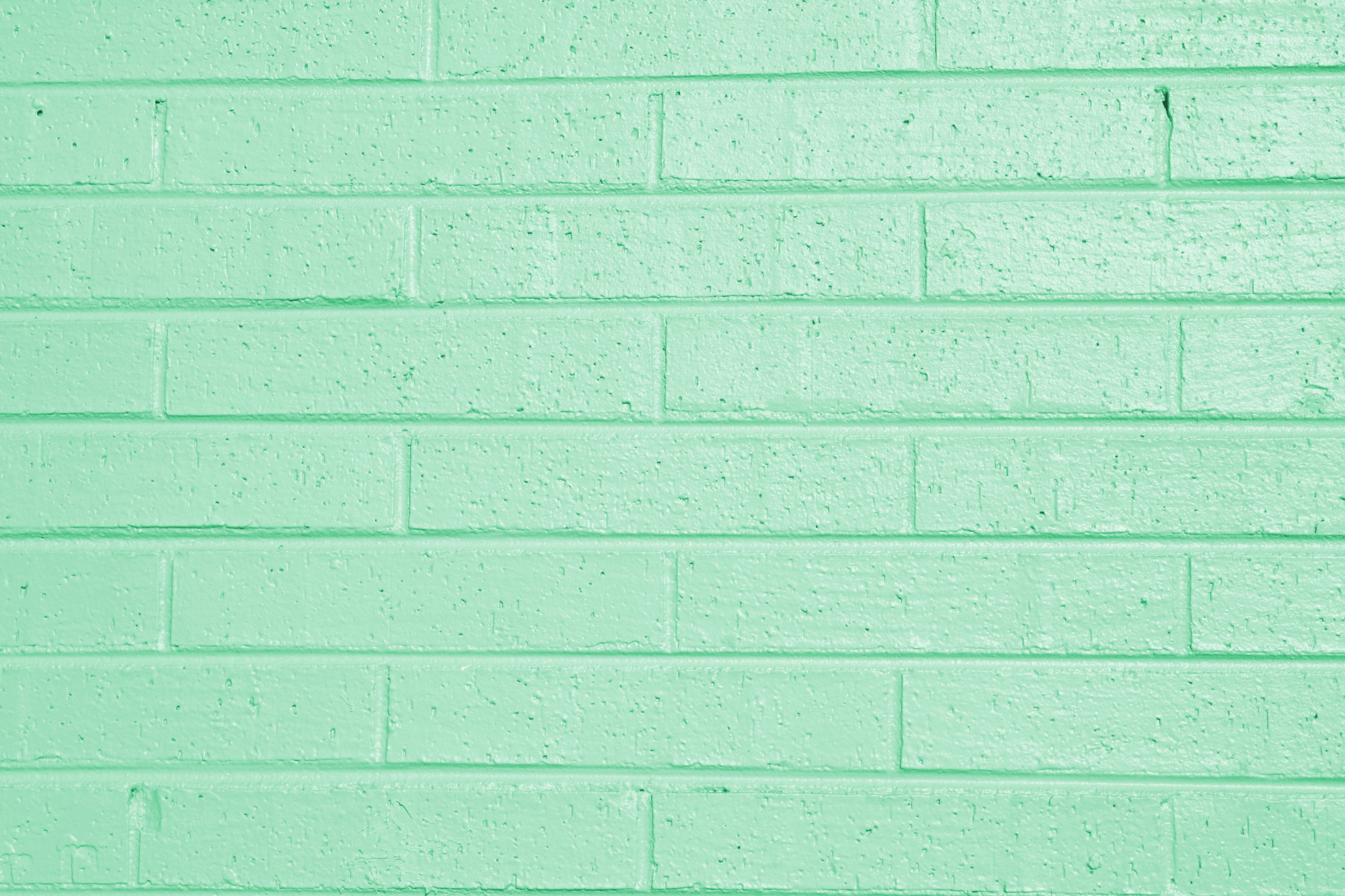 Pistachio Green Painted Brick Wall Texture Picture Free