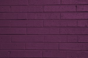 Purple Painted Brick Wall Texture - Free High Resolution Photo