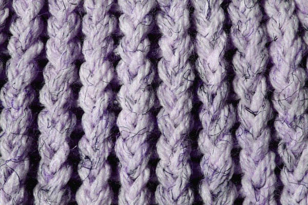 Lavender Knit Yarn Close Up Texture - Free High Resolution Photo