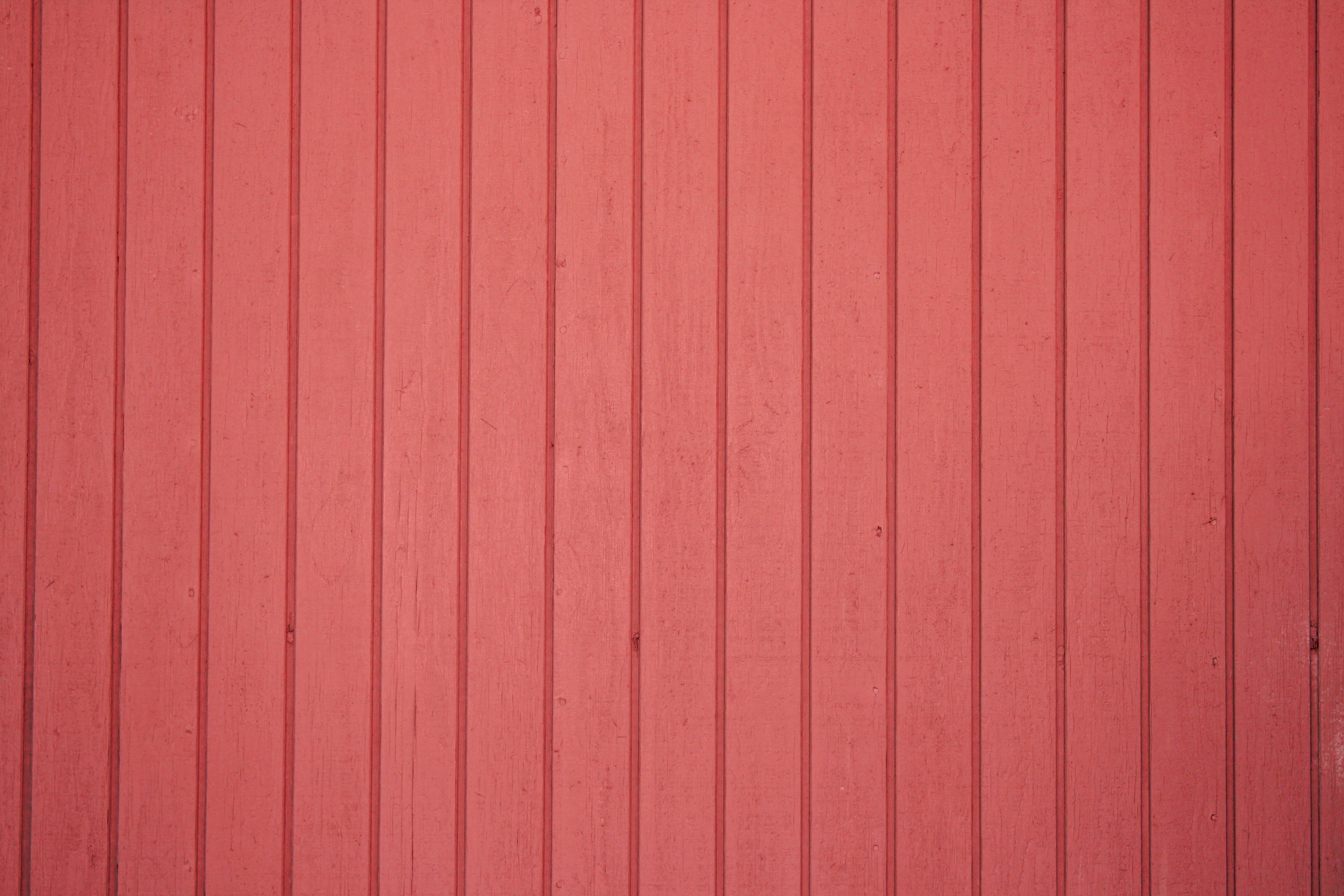 Red Painted Vertical Siding Texture Picture Free