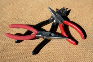 Three Pairs of Pliers - Free High Resolution Photo