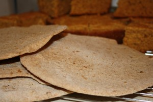 Tortillas with Cornbread in the Background - Free High Resolution Photo