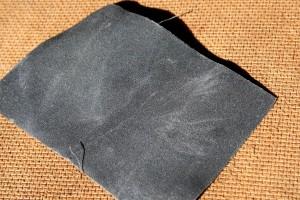 Used Gray Ultra Fine Grain Sandpaper - Free High Resolution Photo