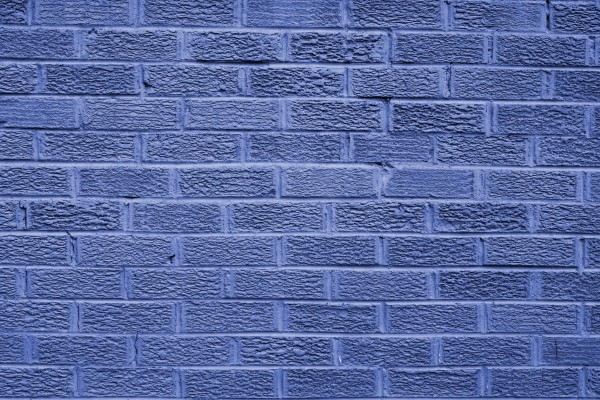 Blue Brick Wall Texture - Free High Resolution Photo