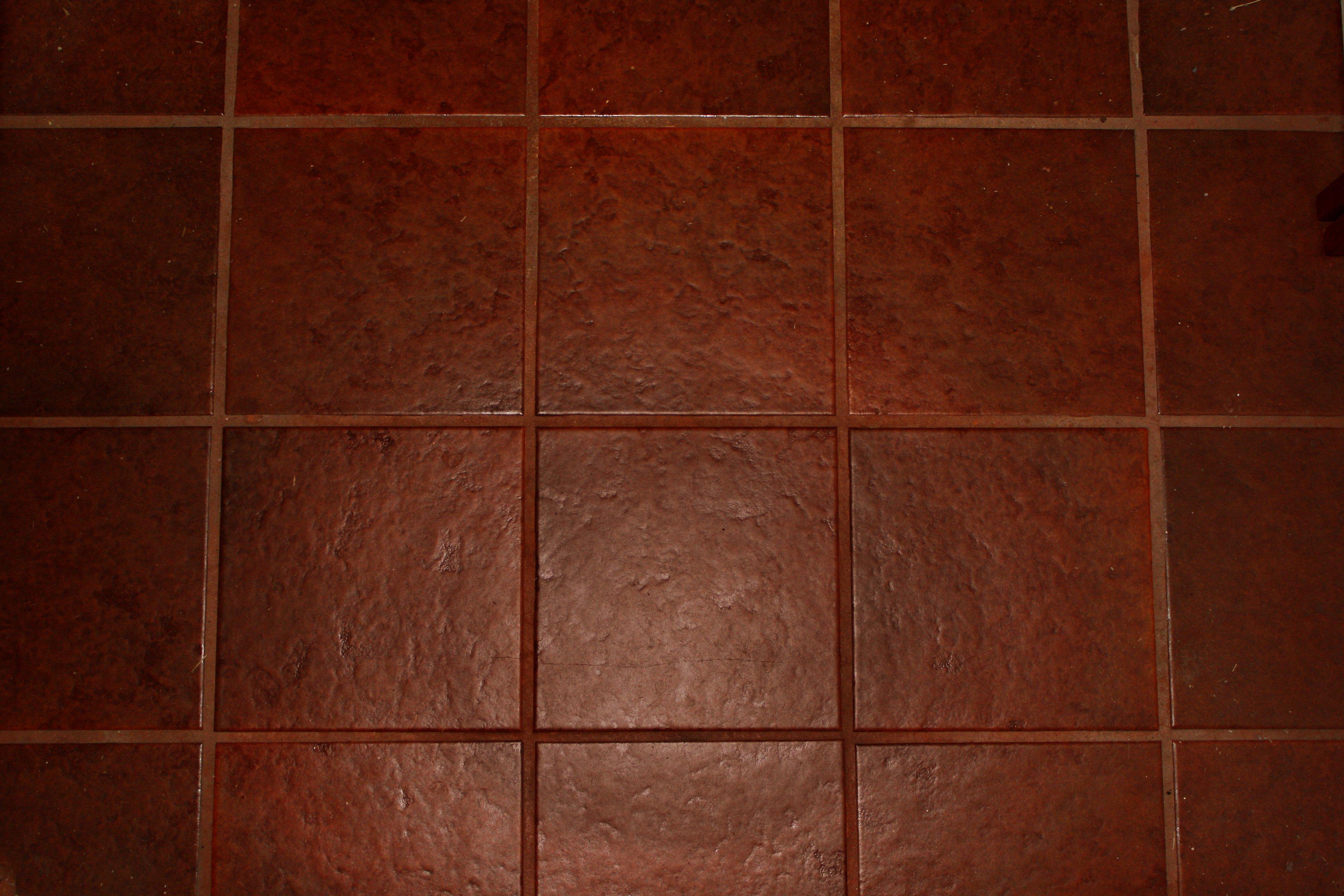 Flooring over tile in the bathroom