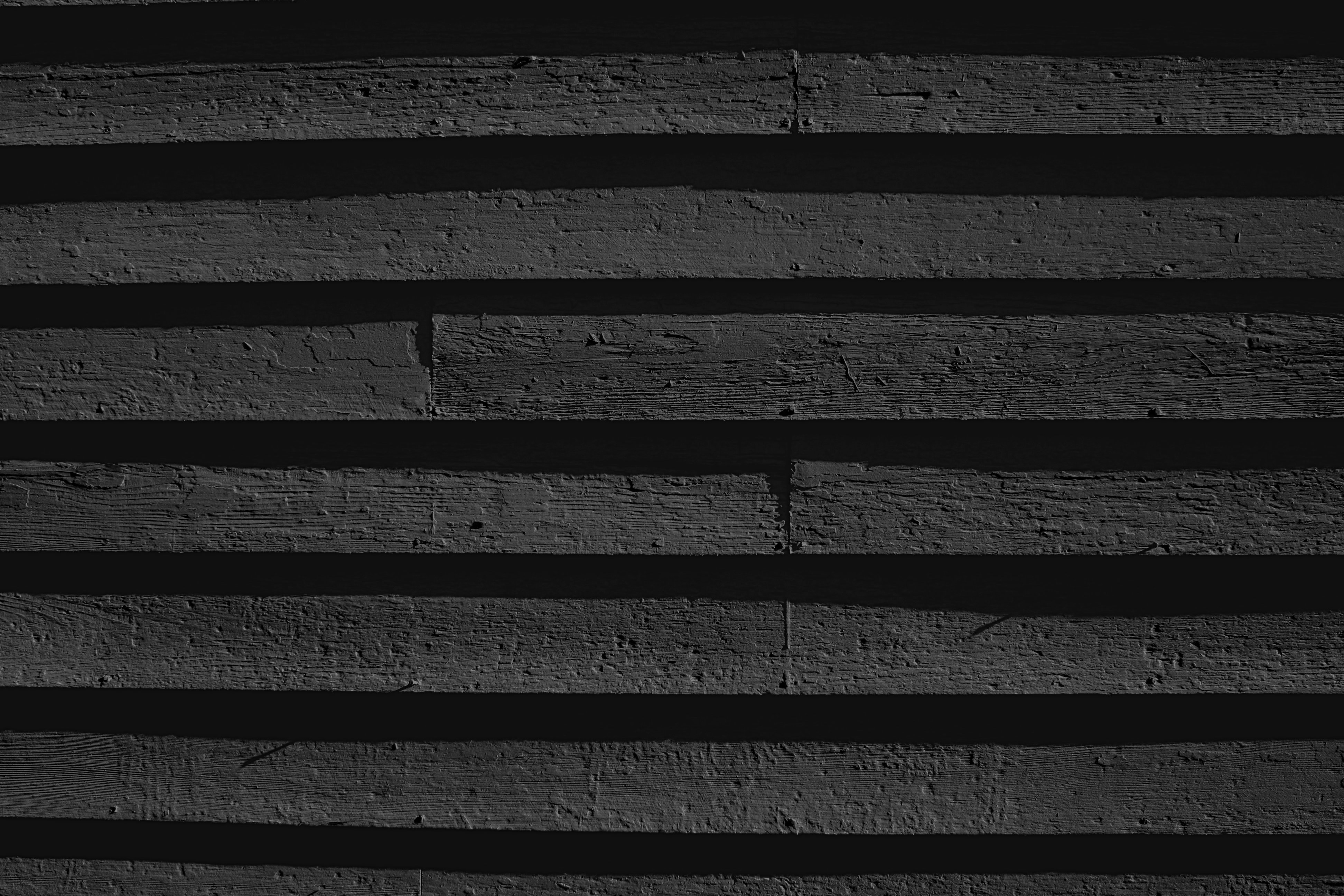 Charcoal Gray Painted Wooden Siding Texture Photos