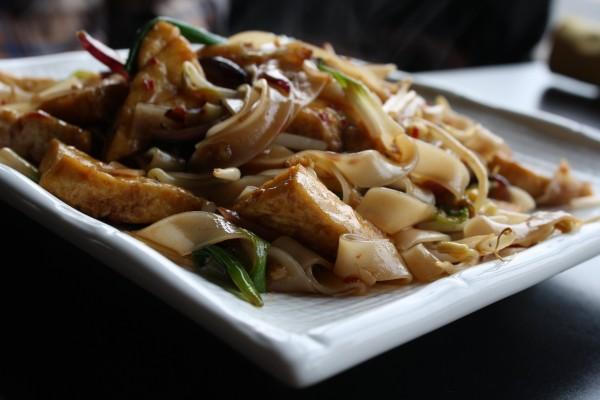 Drunken Noodles or Pad Kee Mao Thai Food - Free High Resolution Photo